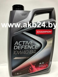 Моторное масло Champion Active Defence B4 10W-40 5л