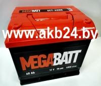 Mega Batt 60 А/h 480A
