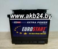 Eurostart 60 A/h. 480А.  Б/У 1 день.