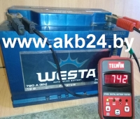 Аккумулятор Westa 74 A/h.