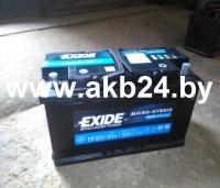 Аккумулятор Exide 92 А/h.