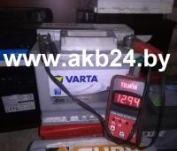 Аккумулятор Varta 63 А/h.