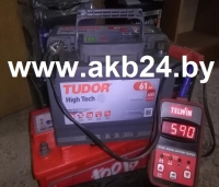 Аккумулятор Tudor 61 A/h.