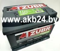 Zubr Premium 77Ah 730А.