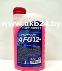 Антифриз Eurofreeze. 1кг. Красный. Низкая цена.
