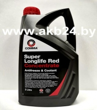 Антифриз Comma Super Longlife Red - Antifreeze 2л