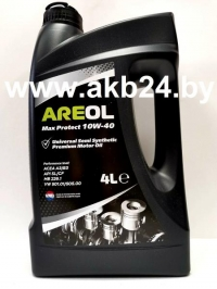 Моторное масло Areol Max Protect 10W-40 4л.