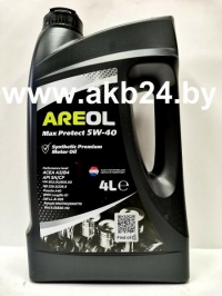 Моторное масло Areol Max Protect 5W-40 4л.