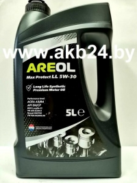 Моторное масло Areol Max Protect LL 5W-30 5л