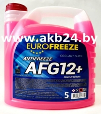 Антифриз Eurofreeze. 5кг. Красный. Самая низкая цена.