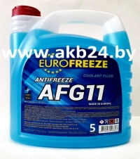 Антифриз Eurofreeze. 5кг. Синий. Самая низкая цена.