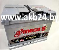 A-mega Premium 74Ah.Б/У 1 день.