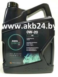 Моторное масло Avista pace EVO US 0W-20 4л