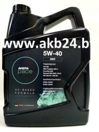Моторное масло Avista pace GER 5W-40 5л