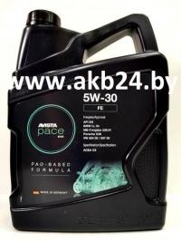 Моторное масло Avista pace EVO FE 5W-30 5л