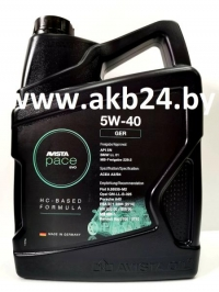 Моторное масло Avista pace EVO GER 5W-40 5л