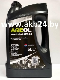 Моторное масло Areol Max Protect 5W-40 5л.