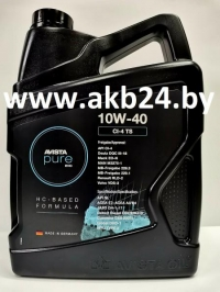 Моторное масло Avista pure EVO CI-4 TS 10W-40 5л