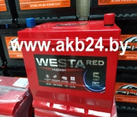 WESTA RED Japan 60 A/h. 540А