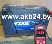Аккумулятор Exide 100 A/h.