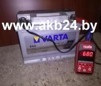 Аккумулятор Varta. 77 А/h.