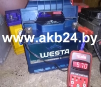 Аккумулятор Westa 60 A/h.