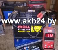 Аккумулятор Moll 62 A/h.